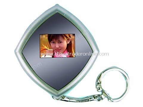 Digital Photo Viewer Keychain - 0.8 Inch Color Screen - 4MB Built-in Memory