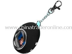 Personalized Keychain - 1.1 Inch Colour Screen Mini Keychain Photo Viewer 8MB
