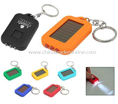 Colored Solar Powered LED Keylight