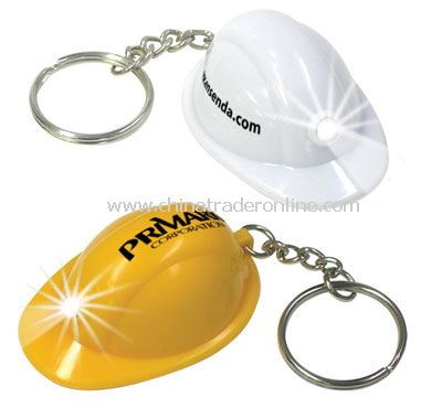 Mini Hard Hat Keychain Light from China