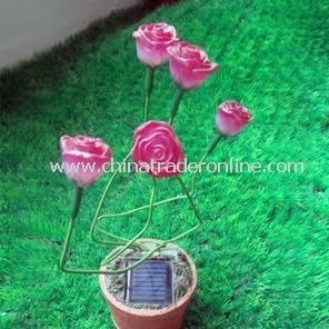 Solar Flower Light, Solar Decorative Light, Solar Art Light, Solar Sculpture Light