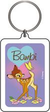 Bambi Heart Keychain & Keyring