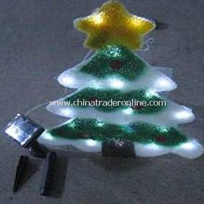 Christmas Tree Solar EVA Light