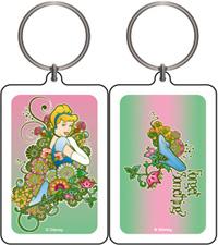 Cinderella Flowers Keychain & Keyring