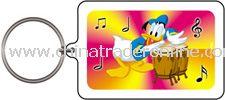 Donald Duck Bongos Keychain & Keyring