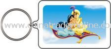 Jasmine with Aladdin Keychain & Keyring