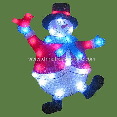 Snowman Solar EVA Light