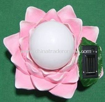 Solar Floating Light,Solar Pool Light, Solar Water Lily Light, Solar Decorative Light from China