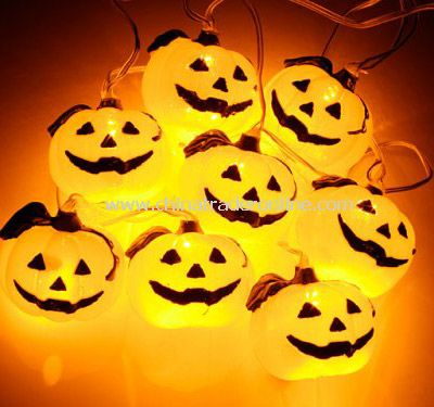 Solar Halloween Light(Pumpkin)