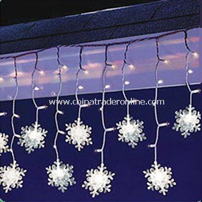 Solar Icicle Light-Snowflake