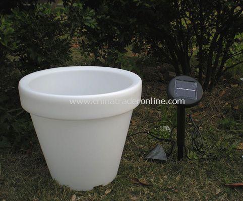 Solar Led Flower Pot