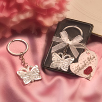 Butterfly Keychain & Keyring - Butterfly