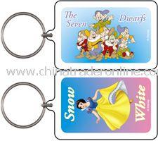 Snow White Seven Dwarfs Keychain & Keyring