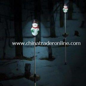 Solar Snowman Light