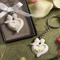 Wedding Keychain & Keyring - Bride & Groom