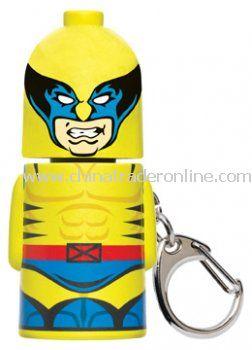Wolverine Stackems Keychain & Keyring