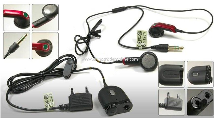 Mobile Phone Headset for HPM-64D