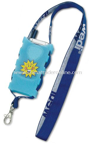 Mobile Phone Holder Lanyard with Woven Logo