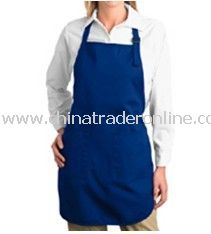 Apron - Port Authority, Full Length Apron with Pouch Pockets