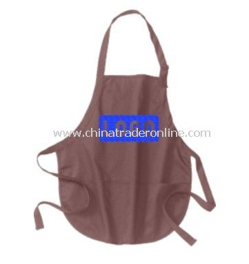 Apron - Port Authority, Medium Length Apron with Pouch Pockets