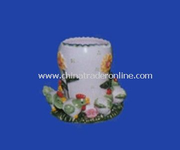 Ceramic Toothpick Holder from China