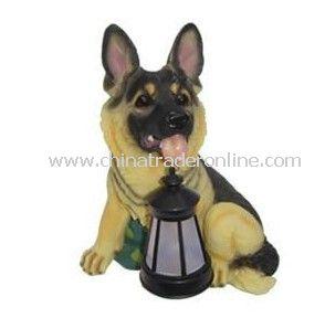 Solar Dog Light, Solar Animal Light, Solar Pet Light, Solar Resin Light, Solar Sculpture Light