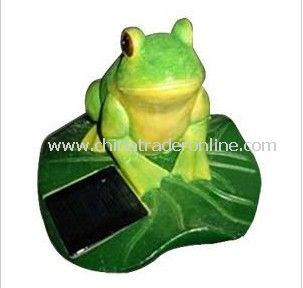 Solar Frog Light, Solar Animal Light, Solar Pet Light, Solar Resin Light, Solar Sculpture Light