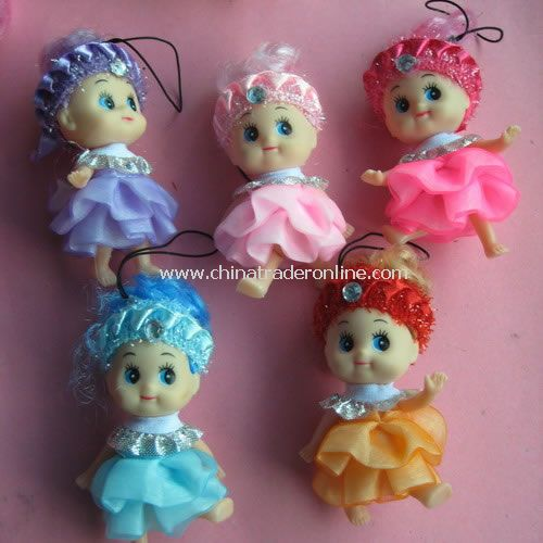 Doll Mobile Phone Charm