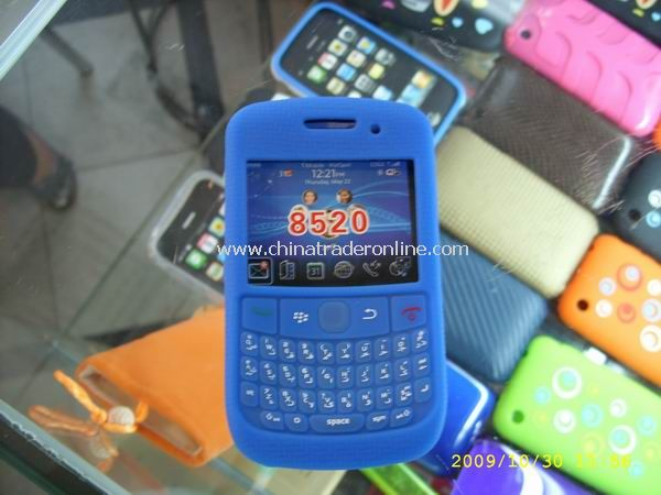 Silicone Case for 8520 Blackberry