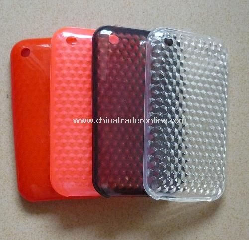 Soft Plastic Rubber Case for iPhone 3G