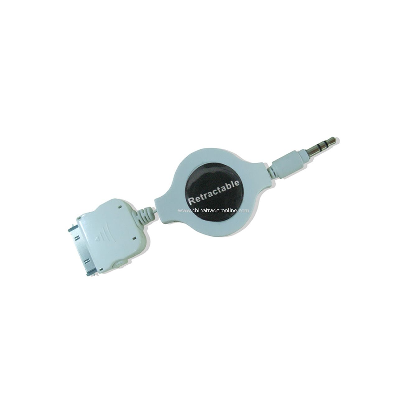 Retractable Audio Cable for iPod