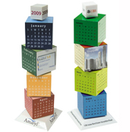 Revolving Calendar Tower from China