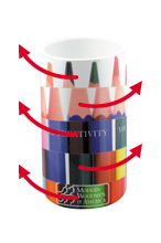 Sliding Puzzle Pencil Pot