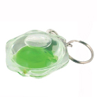 Aqua Liquid Key Chain