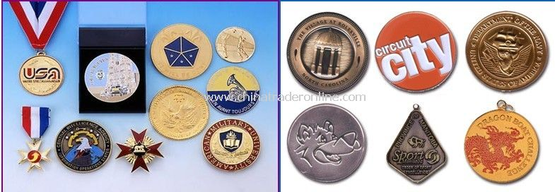 Custom Medals / Medallions and Coins