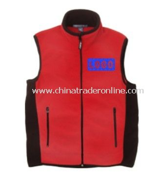 Fleece Vest - Chestnut Hill Unisex Polartec Full-Zip Vest