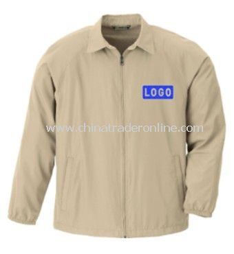 Jacket - Mens Full-zip Lightweight Vented