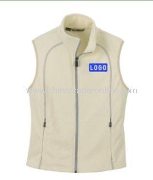 Ladies Recycled Fleece Full Zip Vest