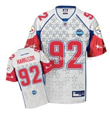 Pittsburgh Steelers 92 James Harrison Red AFC Jerseys