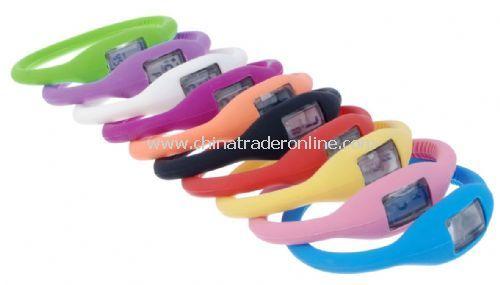 silicone ion sports watch/fashion watch/sports watch
