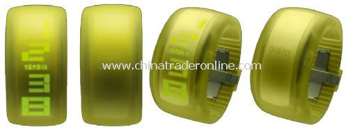 ODM Silicone watch from China
