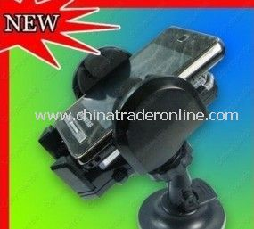 CAR HOLDER FOR iPHONE 4 4G 3GS WINDSCREEN MOUNT CRADLE