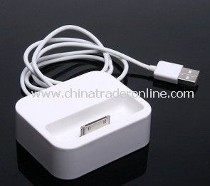 Apple iPhone 4 4G 3G iPod TOUCH USB Charger Dock Cradle