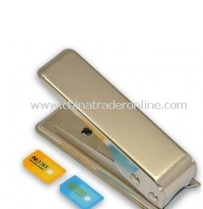 Ipad Iphone 4 2 Sim Adapter + Micro Sim Card Cutter