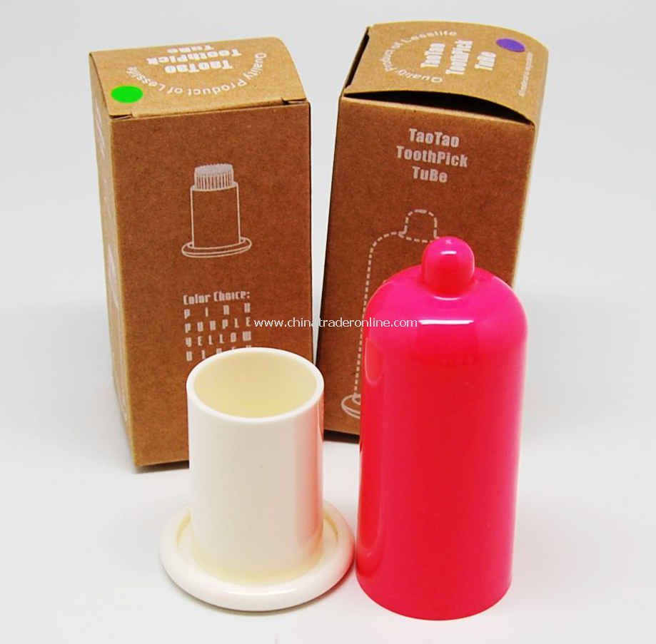 Novelty Item Condom Design Toothpick Holder