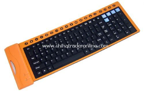 125-key office flexible keyboard