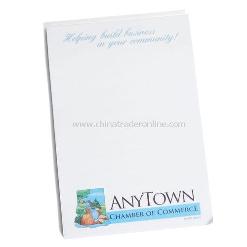 3M Note Pad - 4 x 6, 25 Sheets, Sticky