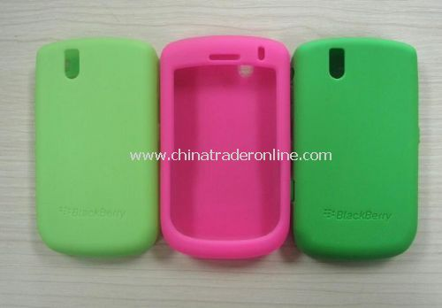 silicone skin case for blackberry 9630