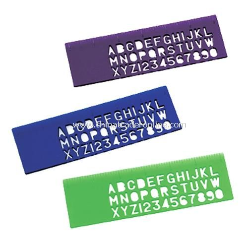 6-inch Stencil Ruler