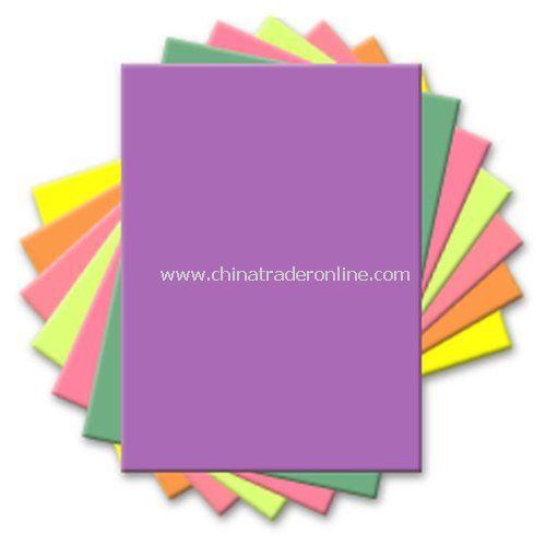 Custom Printed 25-Sheet Neon Post-It Note Pad